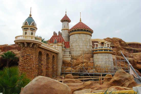 walt disney world offers peek at prince erics castle