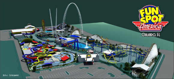 Fun Spot To Build Three Rollercoasters At Orlando Location