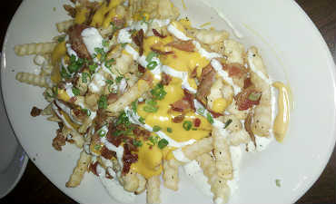 Loaded Fries at Splitsville Luxury Lanes