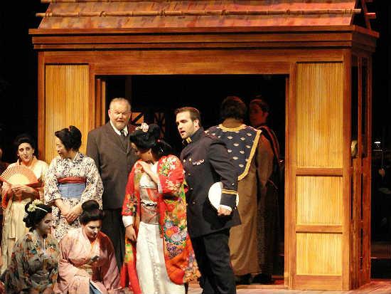 Orlando Philharmonic performs the opera Madama Butterfly