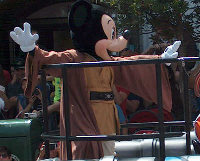 Star Wars Weekends 2013 - Jedi Mickey
