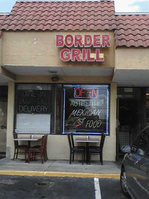 Border Grill Mexican restaurant near Universal Orlando