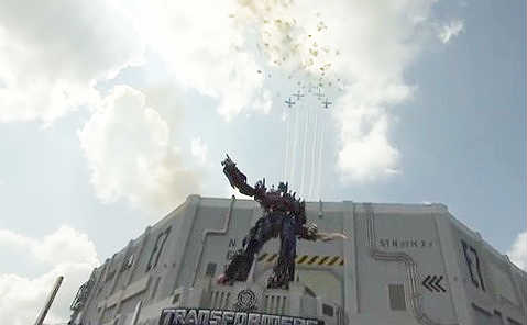 Transformers The Ride - 3D Grand Opening