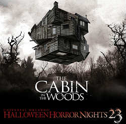 Cabin in the Woods Halloween Horror Nights 23