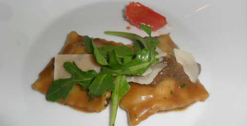 Lotus - Goat Cheese Agnolotti
