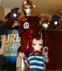 Orlando Science  Center, Blue Man Group, Iron Man