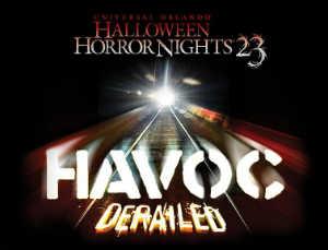 Halloween Horror Nights 23 Havoc 2: Derailed