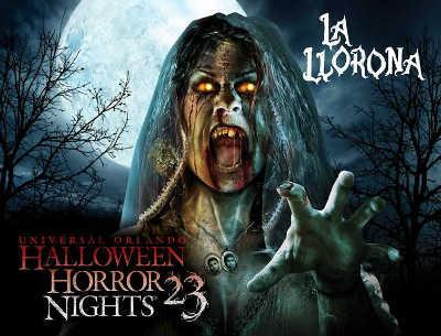 Halloween Horror Nights 23, urban legends, La Llorona