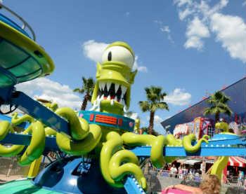 The Simpsons Universal Orlando