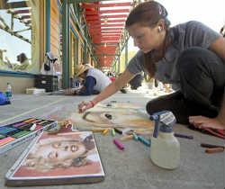 Downtown Disney Chalk Art Festival