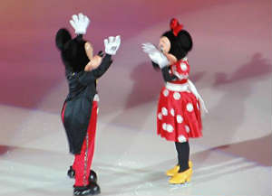 Disney on Ice Mickey Mouse Minnie Mouse