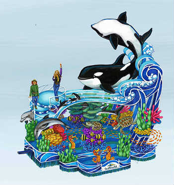 SeaWorld, Macy's Thanksgiving Day Parade float