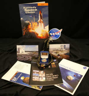 Space Shuttle Atlantis time capsule