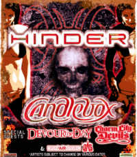Hinder and Candlebox to Rock House of Blues Orlando
