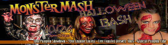 Orlando Brewing Monster Mash Brewery Bash