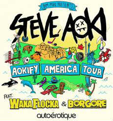 Steve Aoki, Aokify America Tour