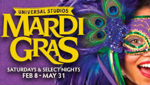 Universal Orlando, Mardi Gras