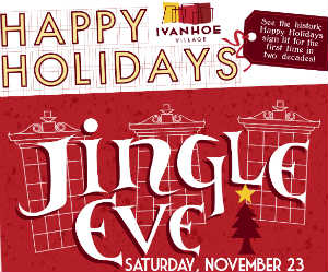 Ivanhoe Village Jingle Eve 2013