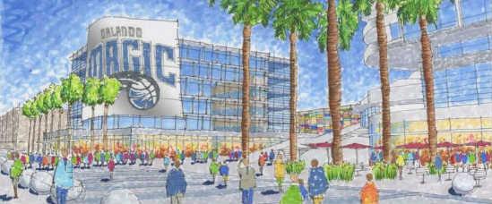 Orlando Magic entertainment complex