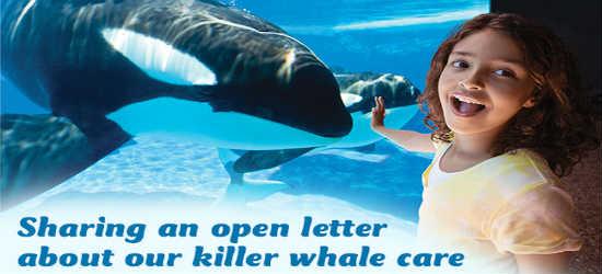 SeaWorld Orlando Open Letter