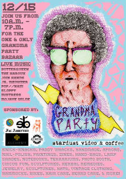 Grandma Party Bazaar, Stardust Video and Coffee