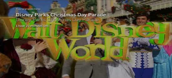 Disney xmas parade