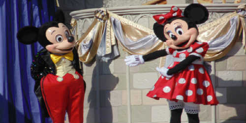 Out And About Dream Along With Mickey At Magic Kingdom At