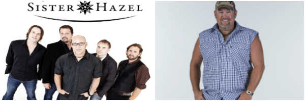 Sister Hazel and Larry the Cable Guy