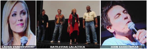 MegaCon 2014 Laura Vandervoort Battlestar Galactica John Barrowman