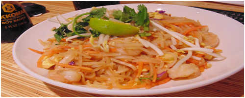 Noodles & Company Pad Thai with Shrimp