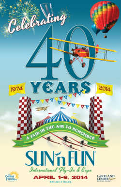 40th Annual SUN 'n FUN International Fly-In & Expo