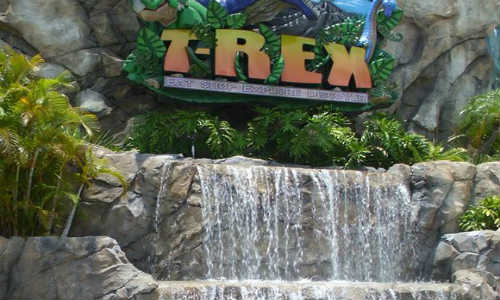 T-Rex Cafe in Downtown Disney