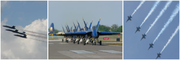 US Navy Blue Angels Photos by: Carol Garreans