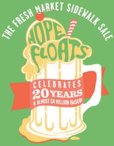 JDRF Hope Floats Sidewalk Sale