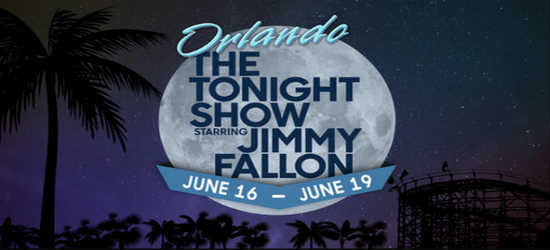 The Tonight Show with Jimmy Fallon will be taping new shows on location at Universal Orlando in June