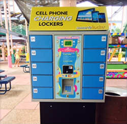 SeaWorld Orlando cell charging stations