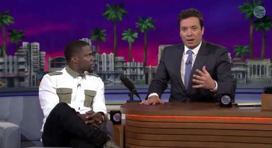 Tonight Show with Jimmy Fallon at Universal Orlando with Kevin Hart