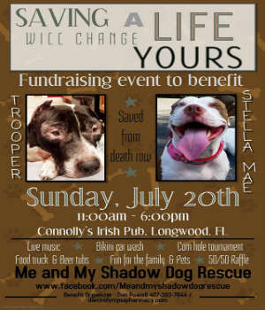 Dog Days of Summer Benefit at Connolly's Irish Pub