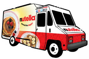 Nutella Spread the Happy Truck Tour