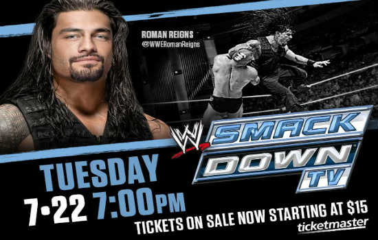 WWE Smackdown will be airing live from the Amway Center on July 22