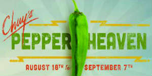 Chuy's Green Chile Festival