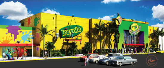 Crayola Experience at the Florida Mall