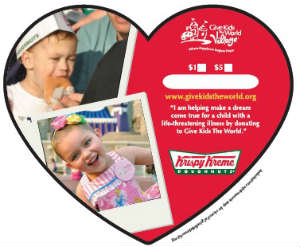 Give Kids the World, Krispy Kreme