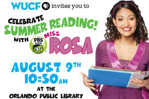 Miss Rosa from PBS Kids
