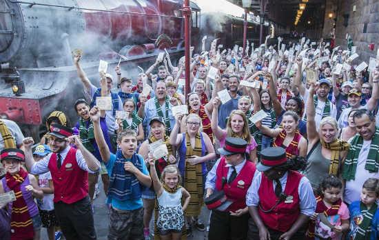 Universal Orlando Celebrates Hogwarts Express One Millionth Rider