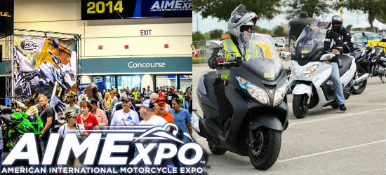 AIMExpo, North America's premier motorcycling event, comes to the Orange County Convention Center in October