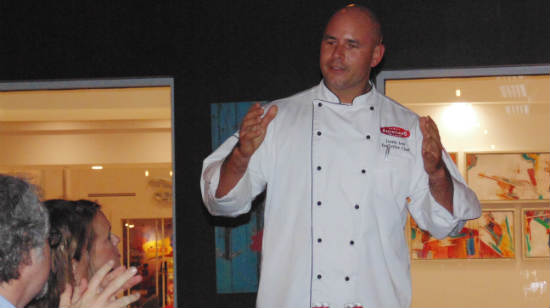 Chef Leo of American Q at the B Resort & Spa at Walt Disney World
