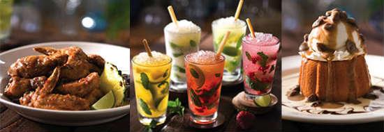 Bahama Breeze Rumtoberfest food and drink