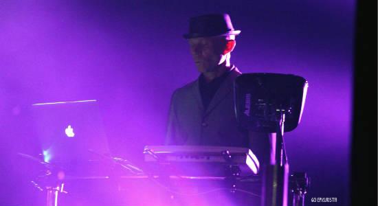 Vince Clarke of Erasure at House of Blues Orlando - photo by Christina Thomas