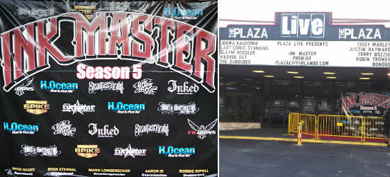Ink Master Season 5 Premier at Plaza LIVE! Orlando
